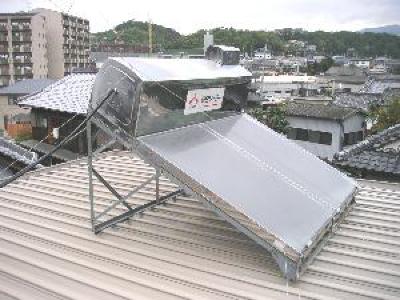 【昔】太陽熱温水器