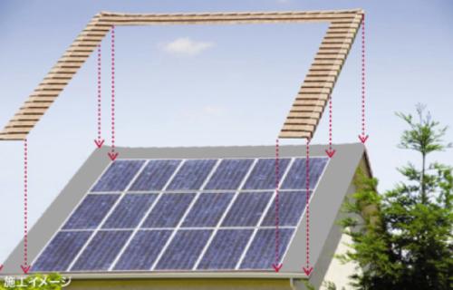 屋根瓦一体型太陽光発電